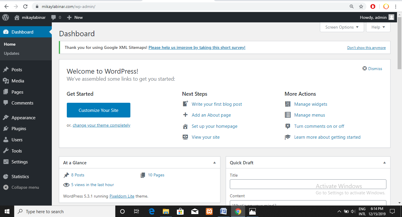 cara mengatasi there has been critical error di wordpress