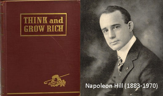 biografi napoleon hill think and grow rich