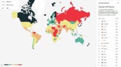 negara paling damai di dunia