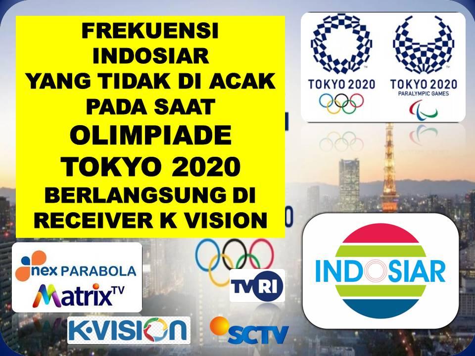 Frekuensi Indosiar Yang Tidak Di Acak Pada Saat Olimpiade Tokyo 2020 Berlangsung Di Receiver K Vision-3df29e8b