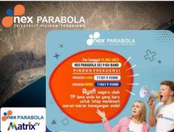 Frekuensi Ku Band Nex parabola Terbaru TP 11861 V 45000 Update 15 Juli 2021