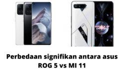 Perbandingan Spesifikasi Asus ROG Phone 5 dan Xiaomi MI 11